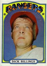 1972 Topps Baseball Cards      148     Dick Billings